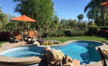 Cochella valley vacation or seasonal home