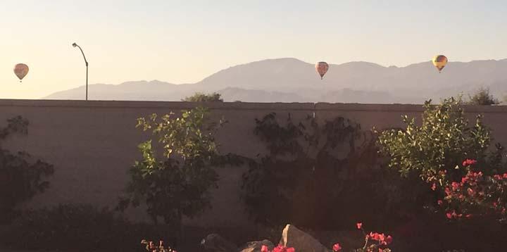 Coachella Valley Blog Hot Air Balloons