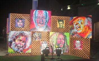 Art Vendor at Indian Wells Music Festival