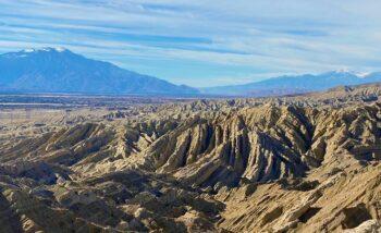 Views from Indio Hills Badlands